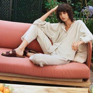 Zara textured lounge pants